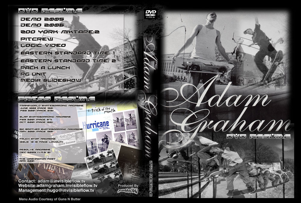 Adam Graham | DVD Package